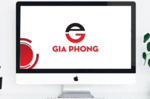 Bộ nhận diện thương hiệu Gia Phong tại Hải Phòng