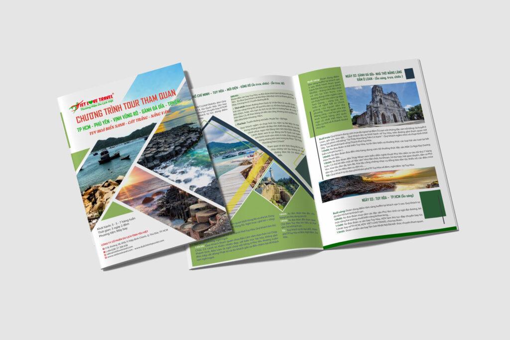 Thiết kế tờ rơi, tờ gấp, brochure bán hàng